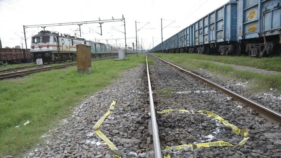 The body was found on railway tracks near Ghaziabad junction.