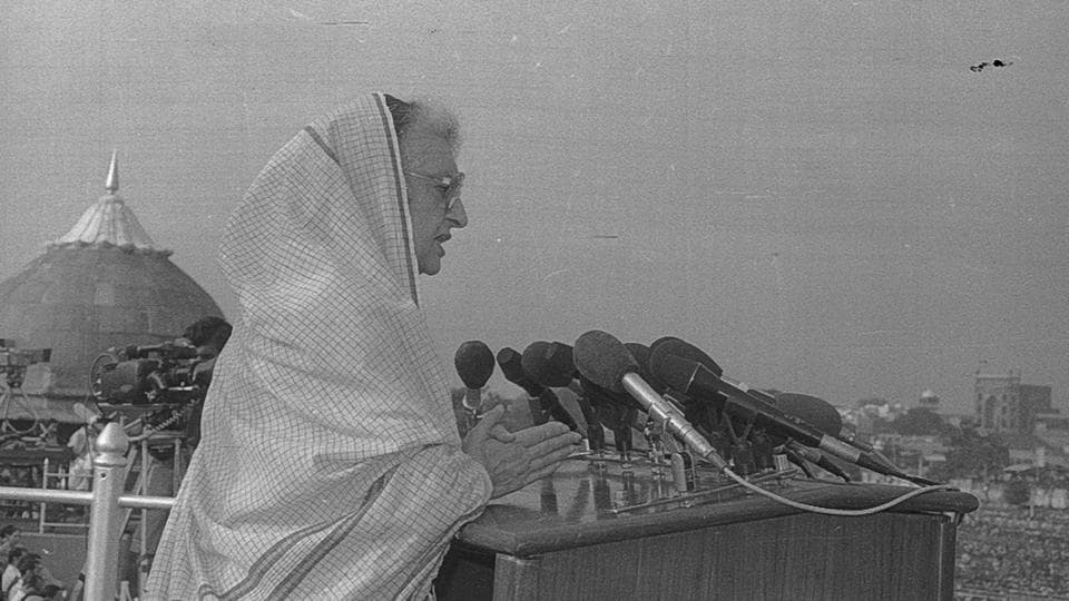 Indira Gandhi during her last speech as Prime Minister in 1984 said, 'My father used to say that freedom cannot be divided. In the same manner, progress is also indivisible, development is also indivisible.' Amongst her most significant contribution as PM was the Liberation of Bangladesh from East Pakistan.  (HT Photo)