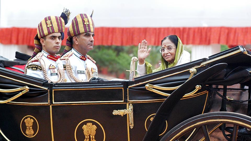 Pratibha Devisingh Patil was sworn in as India's first and only female President so far on July 25, 2007. (Ajay Aggarwal / HT Archive)