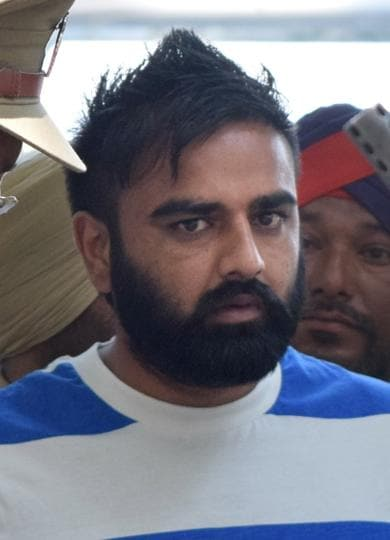 Vicky Gounder,Punjab police,Nabha jail break