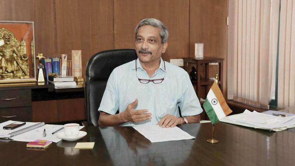 Goa chief minister and former Union defence minister Manohar Parrikar.