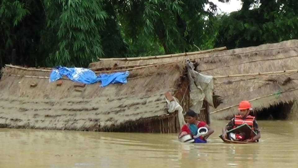 600 tourists trapped in Sauraha floods