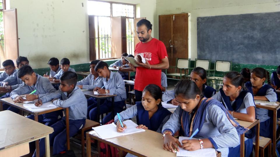 Moga,school education,lone teacher