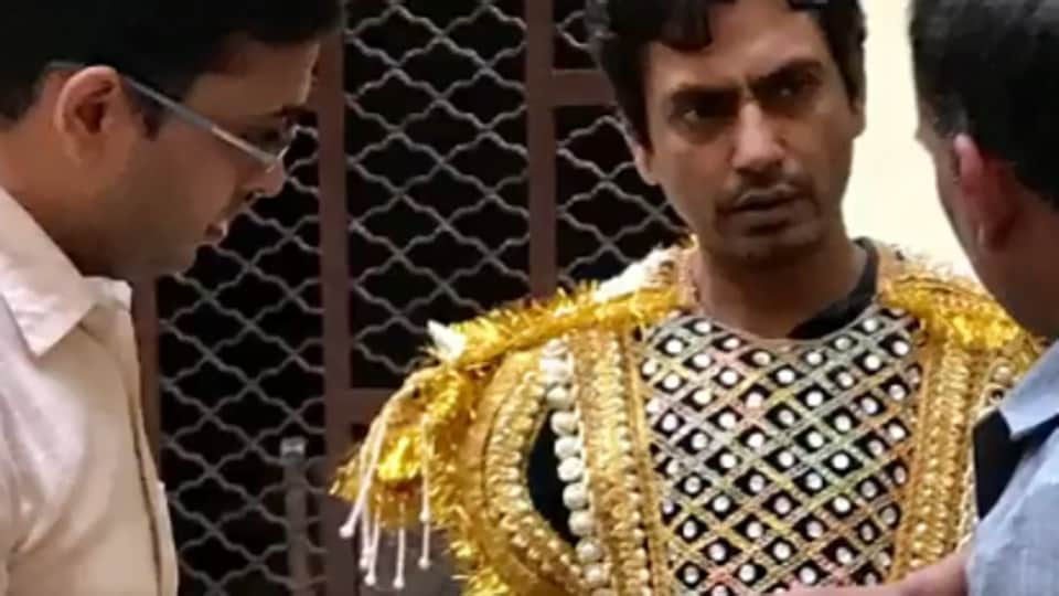 Nawazuddin Siddiqui was barred from performing in Ram Leela after the Shiv Sena protested in 2016. But his son played Lord Krishna in a school play, and the proud actor shared his picture.