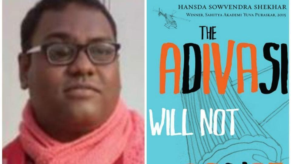Dr Hansda Sowvendra Sekhar was suspended after his book was banned.