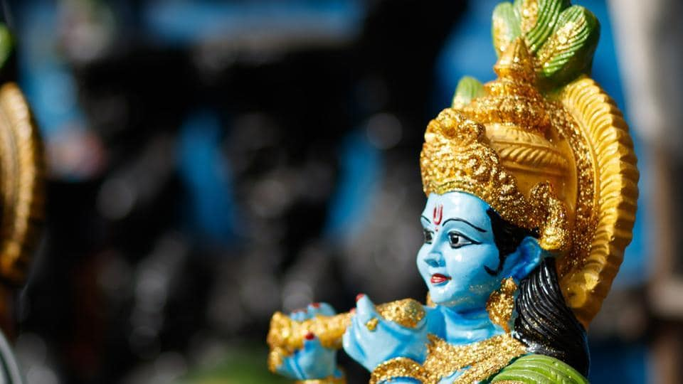 Lord Krishna's devotees fast on Janmashtami and eat only one meal a day before. The Krishna Abhishekam is performed (milk, ghee and water is used) and they offer 'bhog' to Krishna.