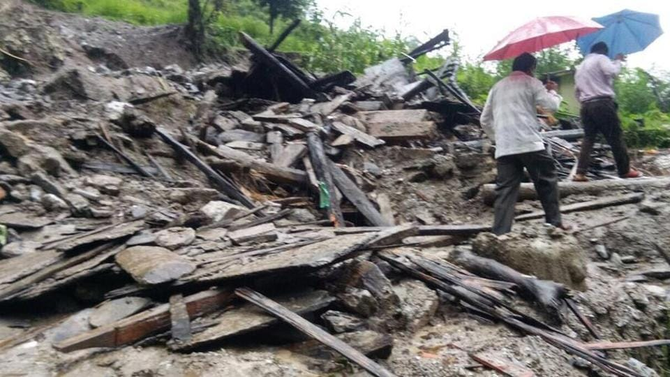 Twenty-four NDRF and SDRF personnel, 17 ITBP and 30 members of the revenue and medical teams have started search and rescue operations in Pithoragarh.