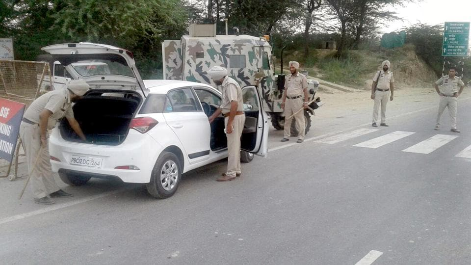 Independence Day,Amritsar,security