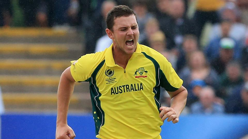 Australia's Josh Hazlewood is ready to lead the pace attack in Bangladesh.
