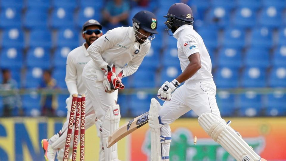 Sri Lanka are struggling against India in the third Test match in Pallekele.