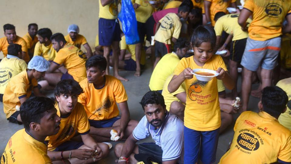 With practice done, it's now time for a hearty meal. (Pratik Chorge/HT)