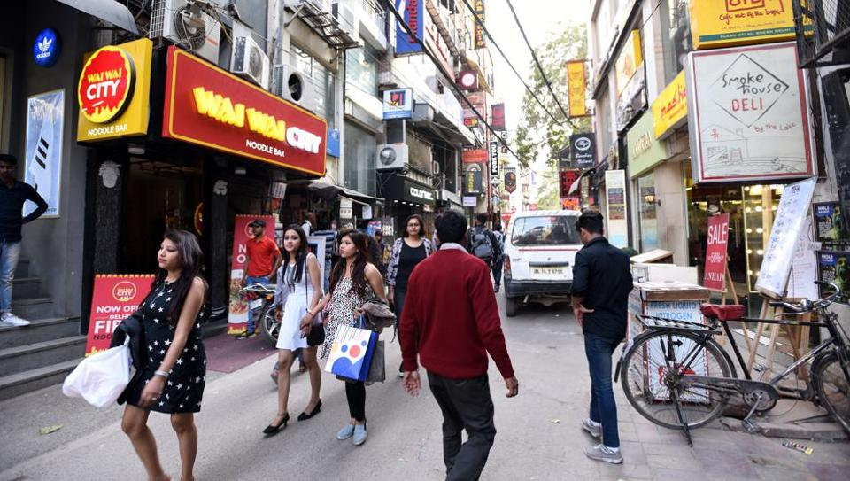 The Hauz Khas Village is a popular spot for the city's young, with weekends being one of the most crowded days.