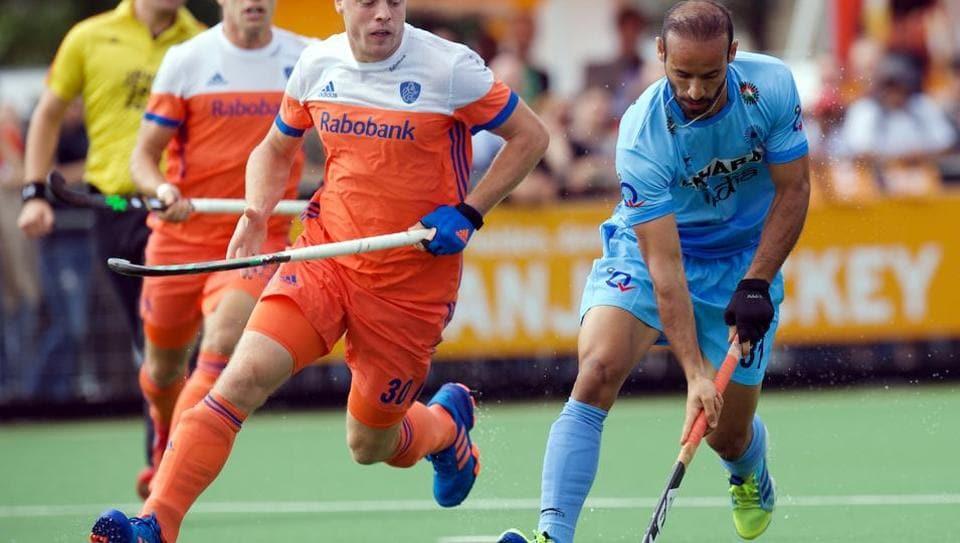 India men's hockey team,India V Netherlands,Ramandeep Singh