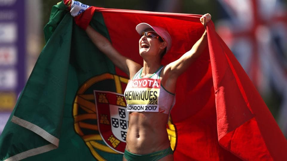 Portuguese Henriques and French Diniz Champions in 50 Km March