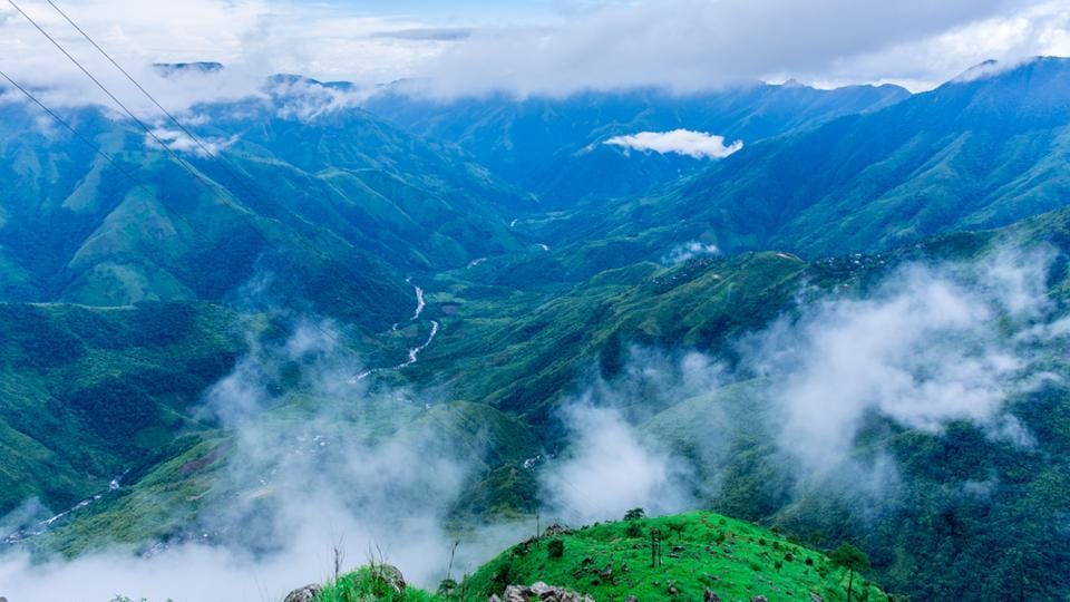 Much like Scotland, Shillong has surging meadows, rivers and widespread grasslands.