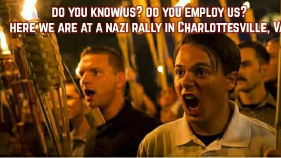Charlottesville,@YesYoureRacist,White supremacist