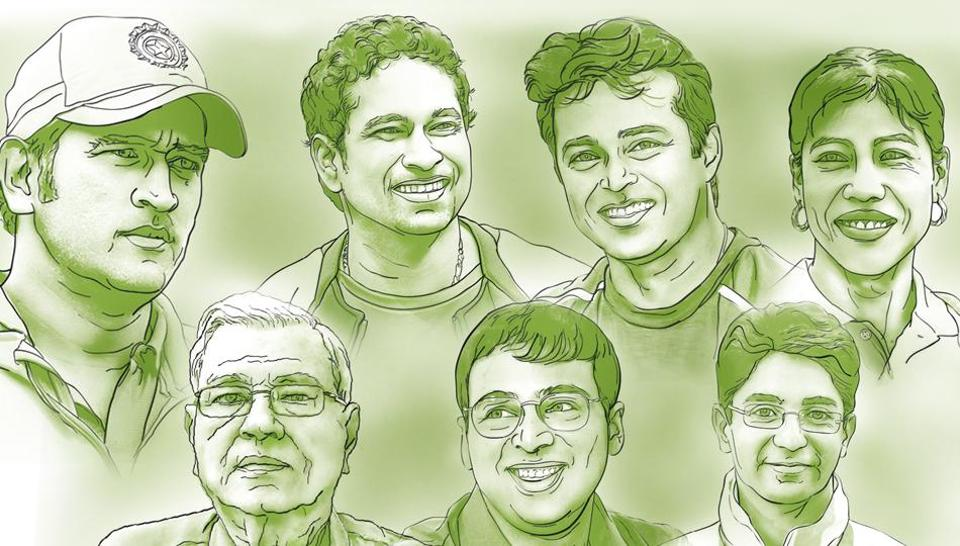 On India's 71st Independence Day, Hindustan Times picks the country's 70 standout sporting icons. If Sachin Tendulkar kept India's cricket flag flying high, Olympians Abhinav Bindra and MC Mary Kom were not behind. Here's a tribute to our sportspersons in the last seven decades.