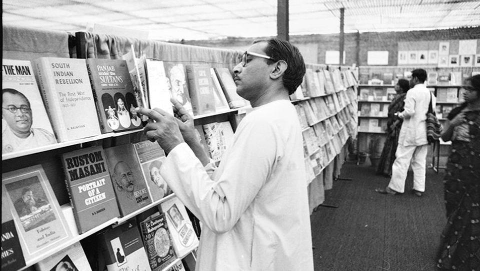 Delhi's first book fair was organised in 1972.