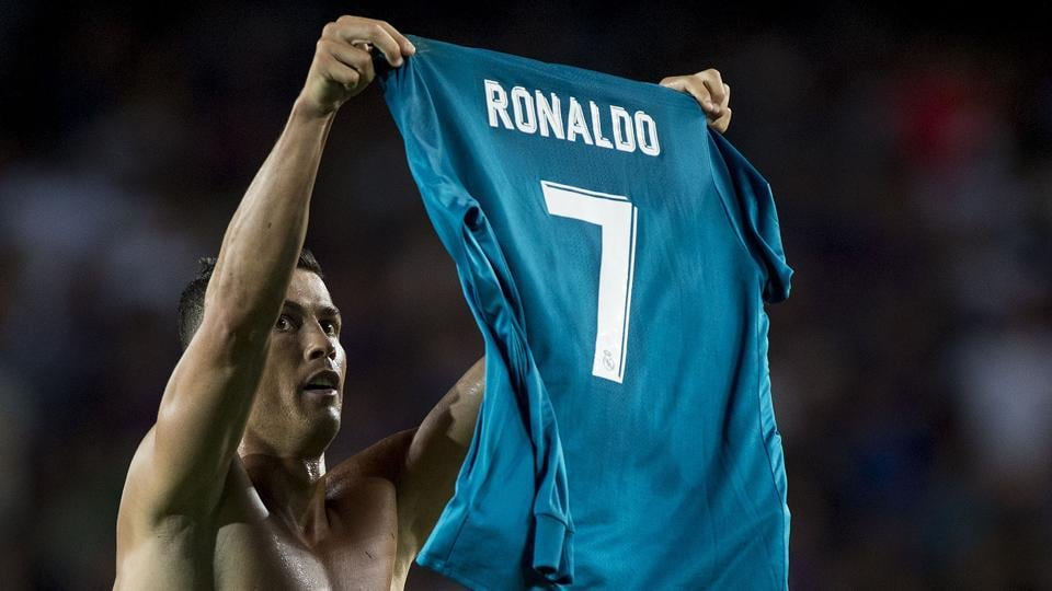 Image result for ronaldo show his shirt