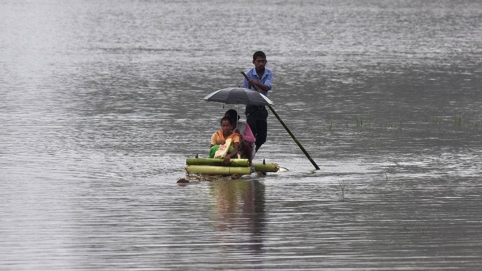 Fresh floods hit Assam, 11 lakh people affected in 19 districts