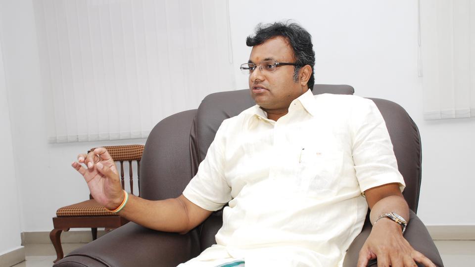 Karti Chidambaram,P Chidambaram,INX Media