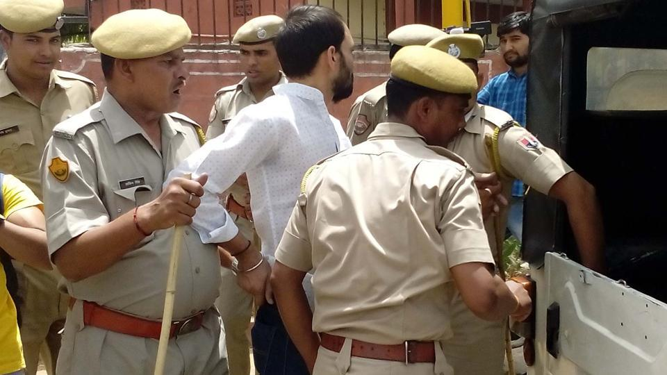 Police have registered a case for rioting and attempt to murder against the accused and have started an investigation.