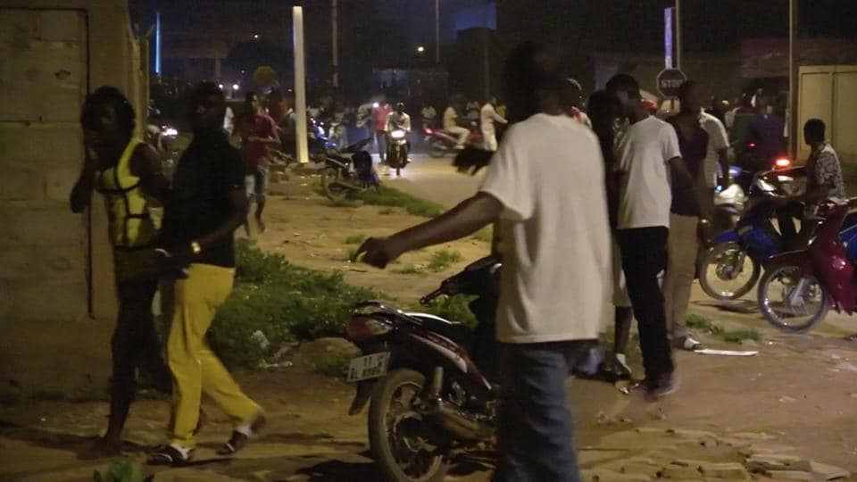 Burkina Faso,Ouagadougou,Burkina Faso Restaurant Attack