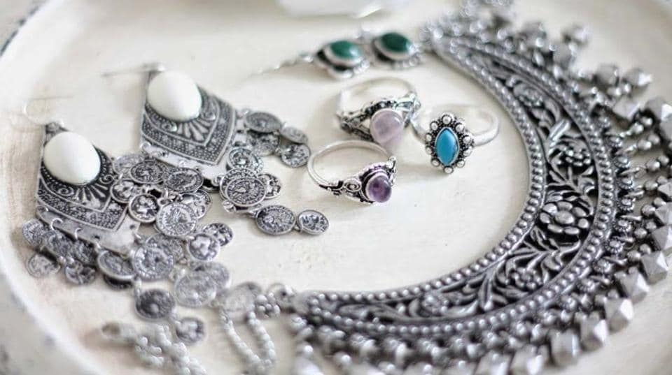 If good care is not taken, monsoon can be a bad sign for your silver jewellery.