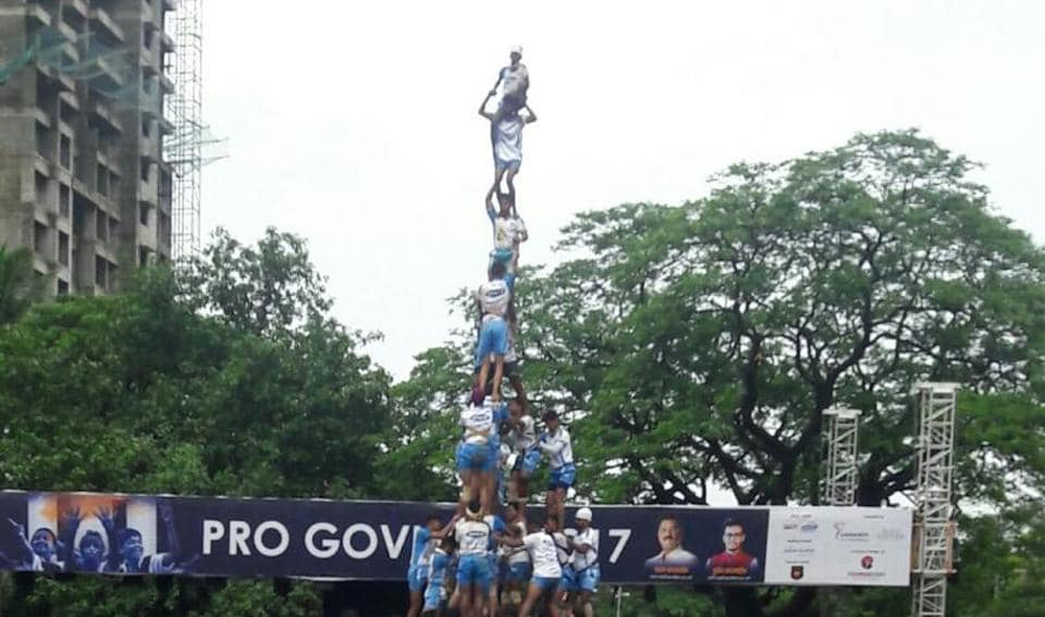 Dahi handi leaves 117 govindas injured