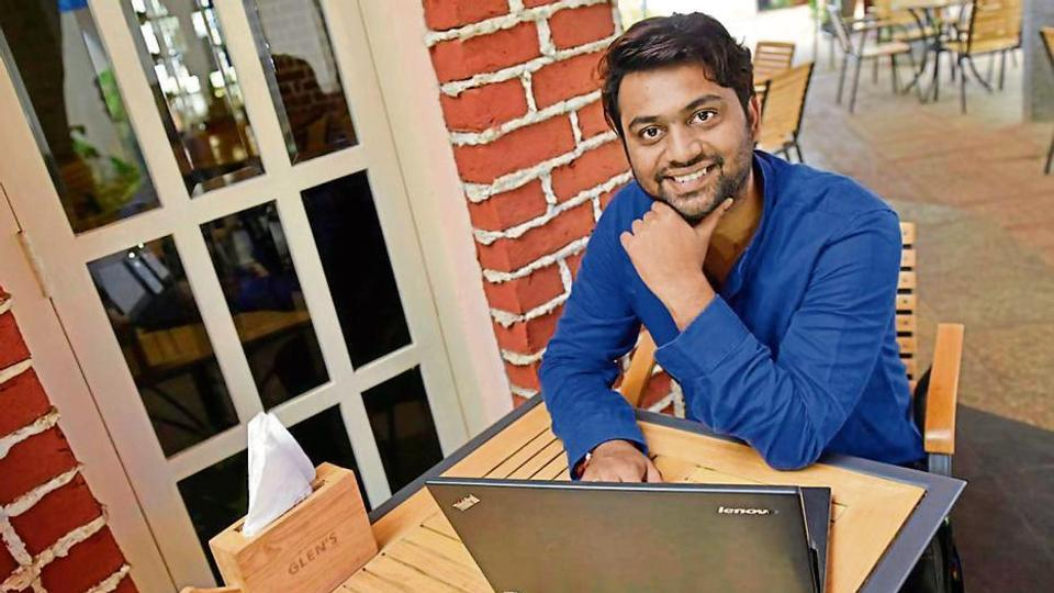 VFX artist Vinay Thakur's fondness for DC and Marvel comics' superheroes led him to pursue a design and animation course. (Arijit Sen/ HT photo)