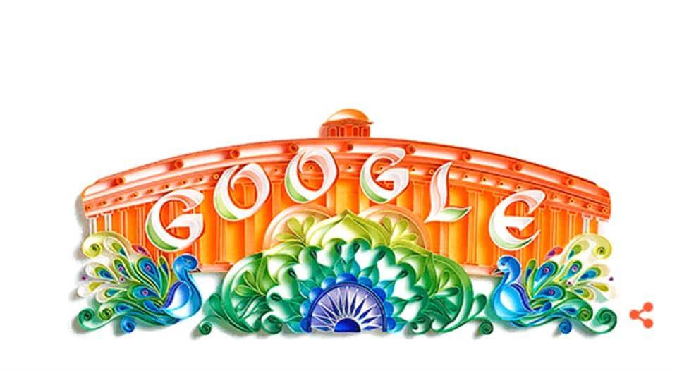 Google,Independence Day,Google doodle