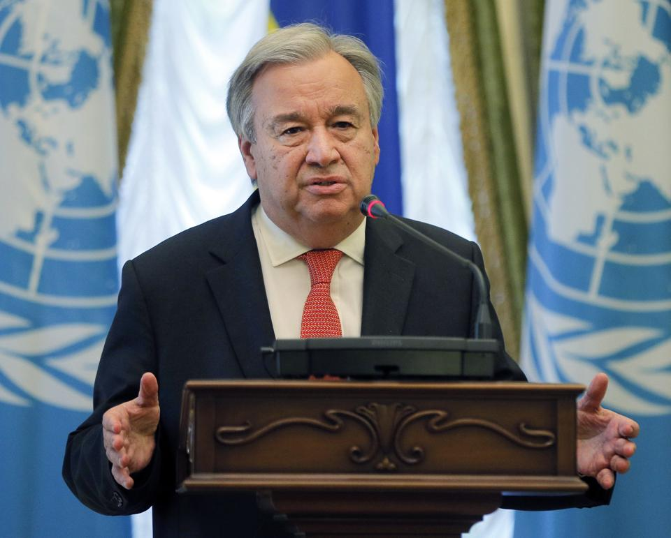 United Nations,UN,Antonio Guterres
