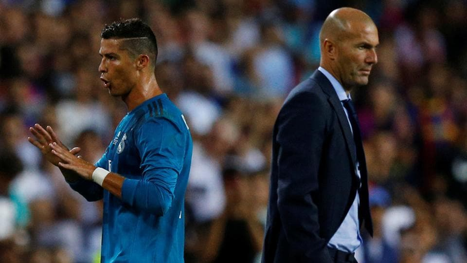 Zinedine Zidane,Cristiano Ronaldo,Real Madrid