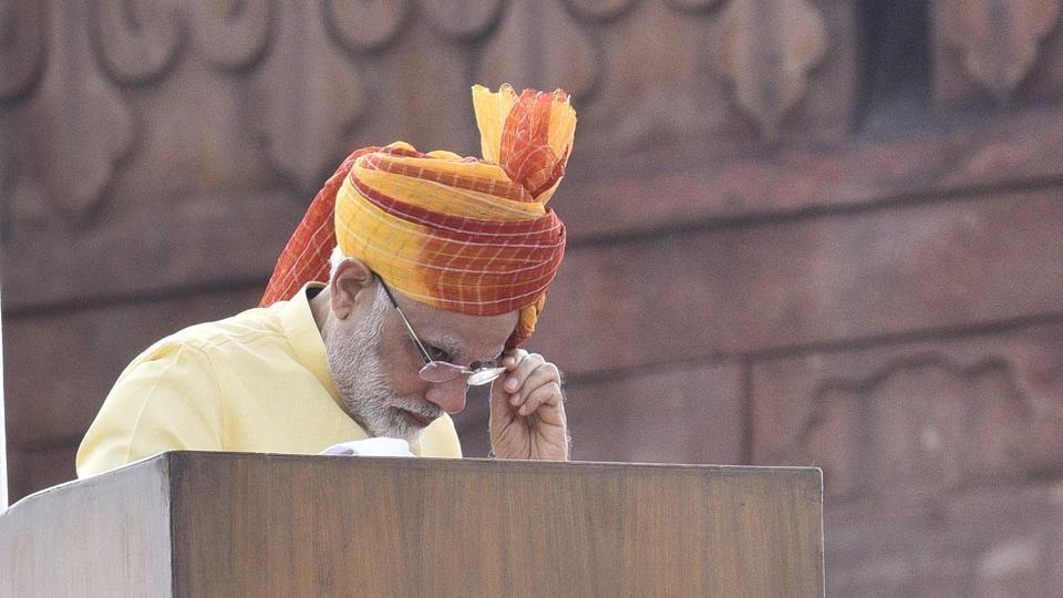 Narendra Modi,Gorakhpur tragedy,Independence Day