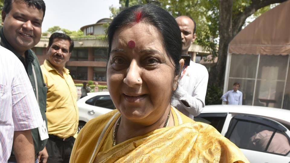Sushma Swaraj,External Affairs Minister,MEA