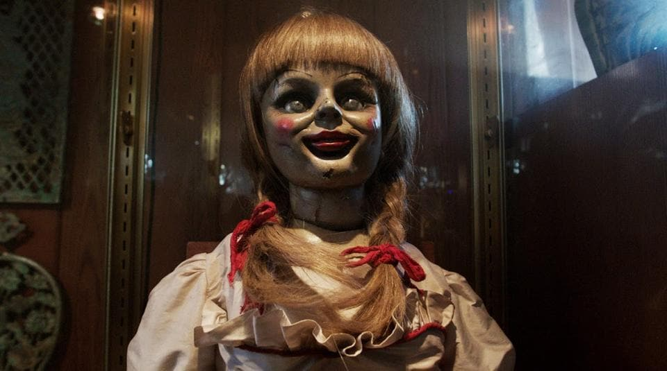 Finally, Chucky has a worthy adversary in Annabelle.