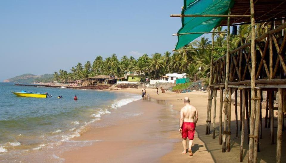 Curlies,Anjuna Beach,north goa