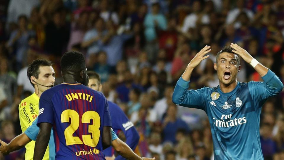 Cristiano Ronaldo,Real Madrid C.F.,FC Barcelona