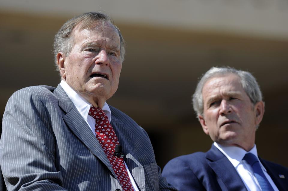 George Bush,Donald Trump,Charlottesville