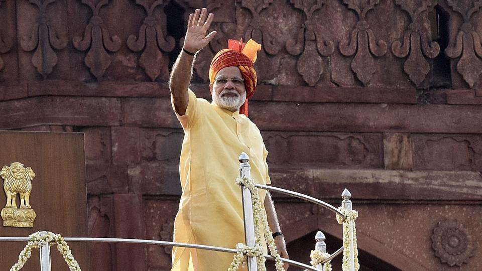 China's incursion,PM Modi,Independence Day speech