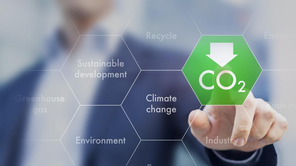 Cutting greenhouse gas emissions for sustainable development is one of the ways to counter climate change