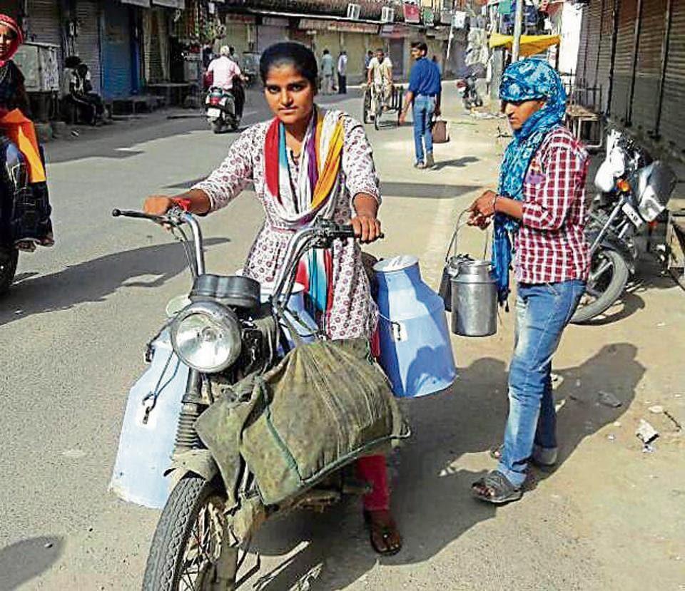 Rajasthan News,Education,milkmaid