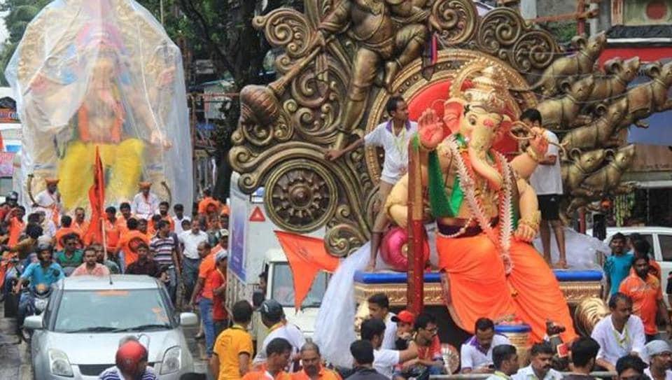 MumbaiGanpati pandalsMumbai Ganesh festival 8 days for