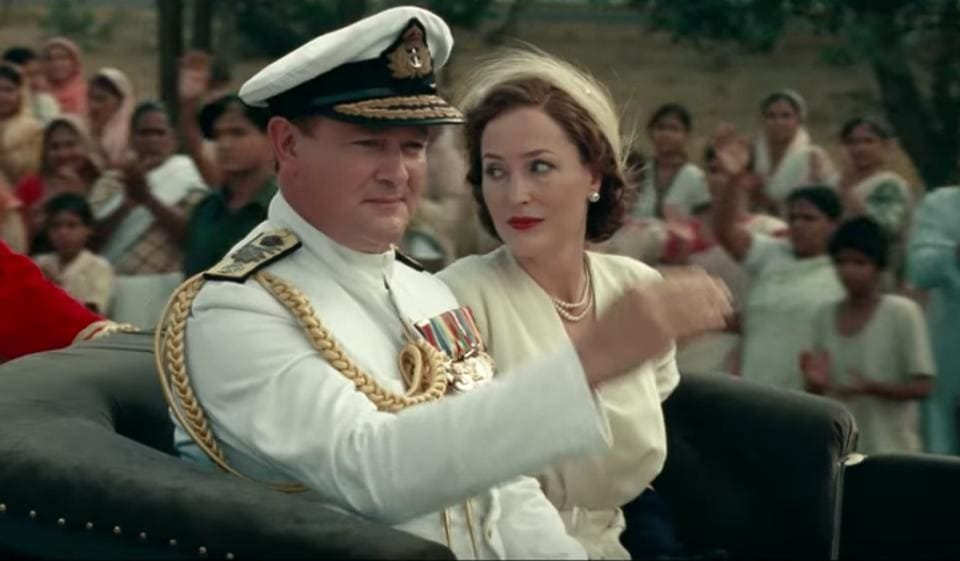 The film would have been more or less unwatchable if not for Hugh Bonneville and Gillian Anderson in the lead roles.