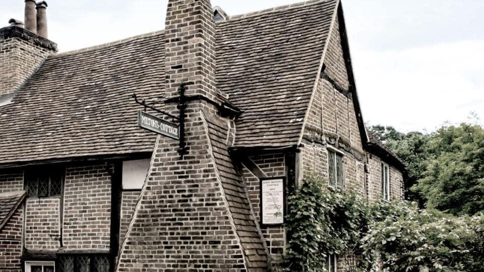 John Milton,Paradise Lost,John Milton's house in UK