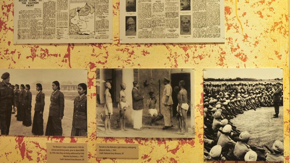 Photos and news items documenting the socio-political impact of the India-Pakistan Partition seen at the museum in Amritsar, Punjab. The events of Partition have been foundational in shaping the identity of both nations and their peoples, inspiring countless works of art and literature, but not any official responses of regret or memorialization from either side. (Ravi Kumar / HT Photo)