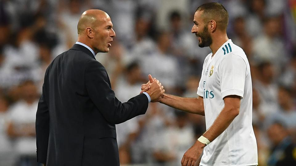 Real Madrid,Barcelona,Zinedine Zidane