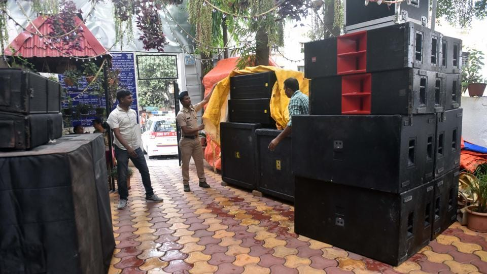 Police Seize 20 Dj Systems From Different Places For