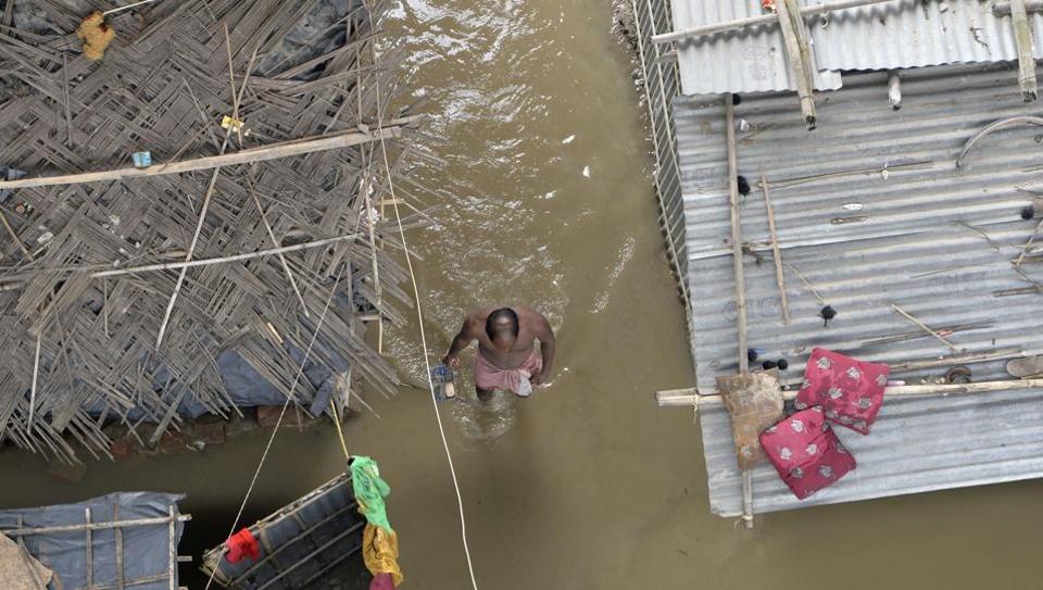 Bihar,Floods,Assam