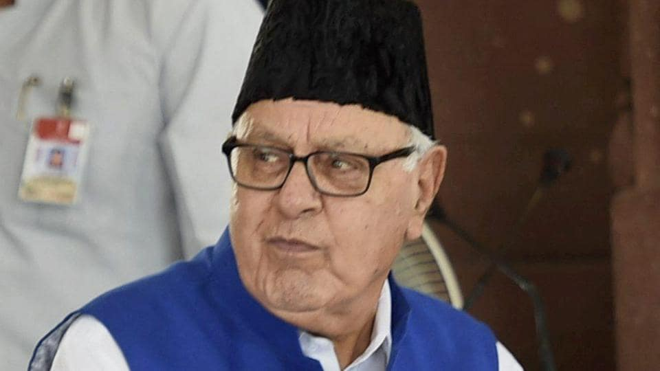 Jammu and Kashmir,National Conference,Farooq Abdullah